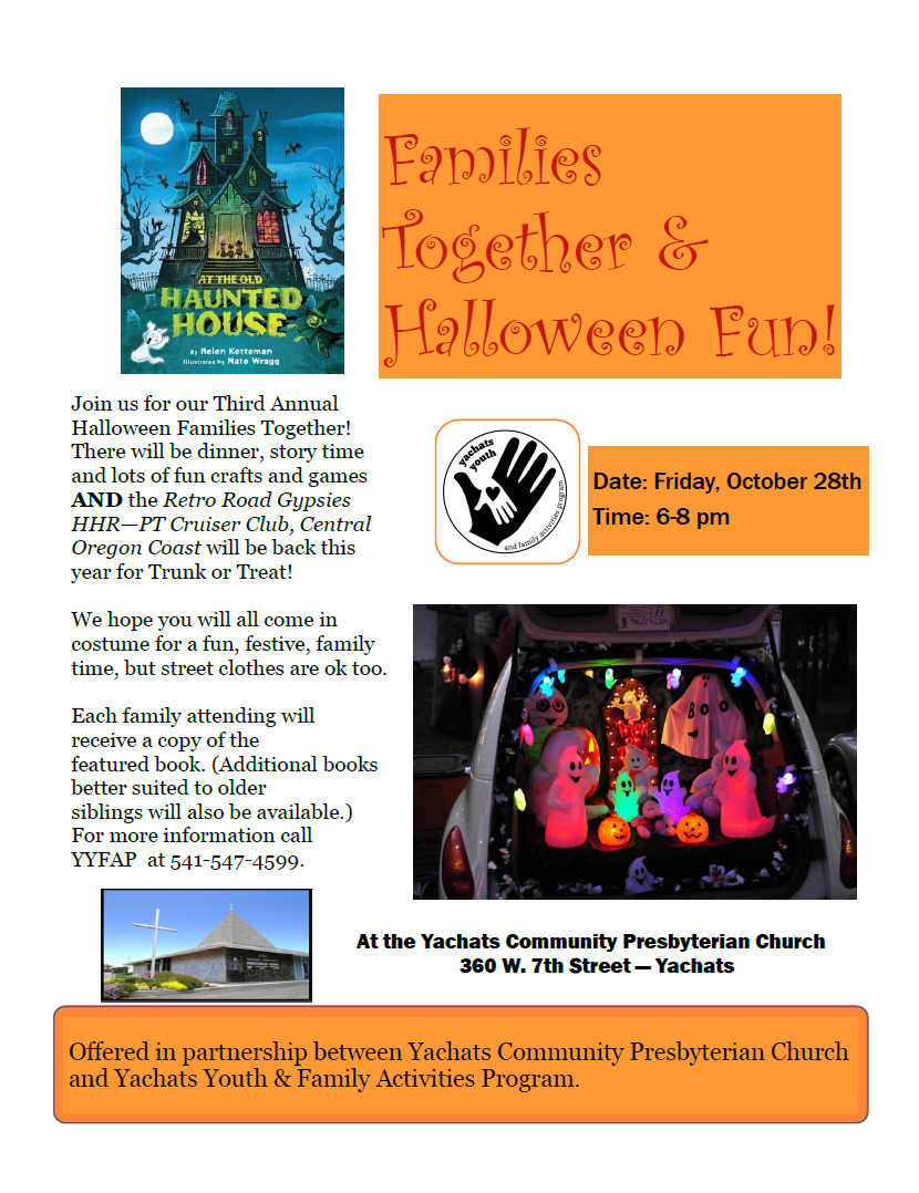 Come Read With Us for Halloween!