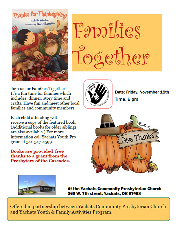 Families Together - November 18 2016